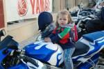 little motorcyclist